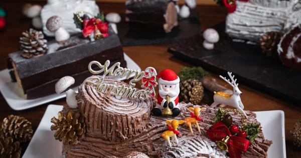 Durian Log Cake