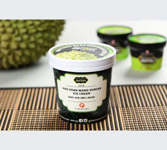 Mao Shan Wang Durian Ice Cream Pint